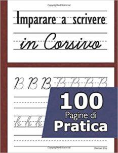 libro imparare scrivere corsivo