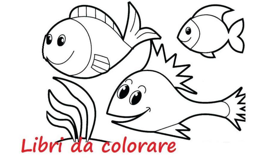 libri bambini colorare dipingere
